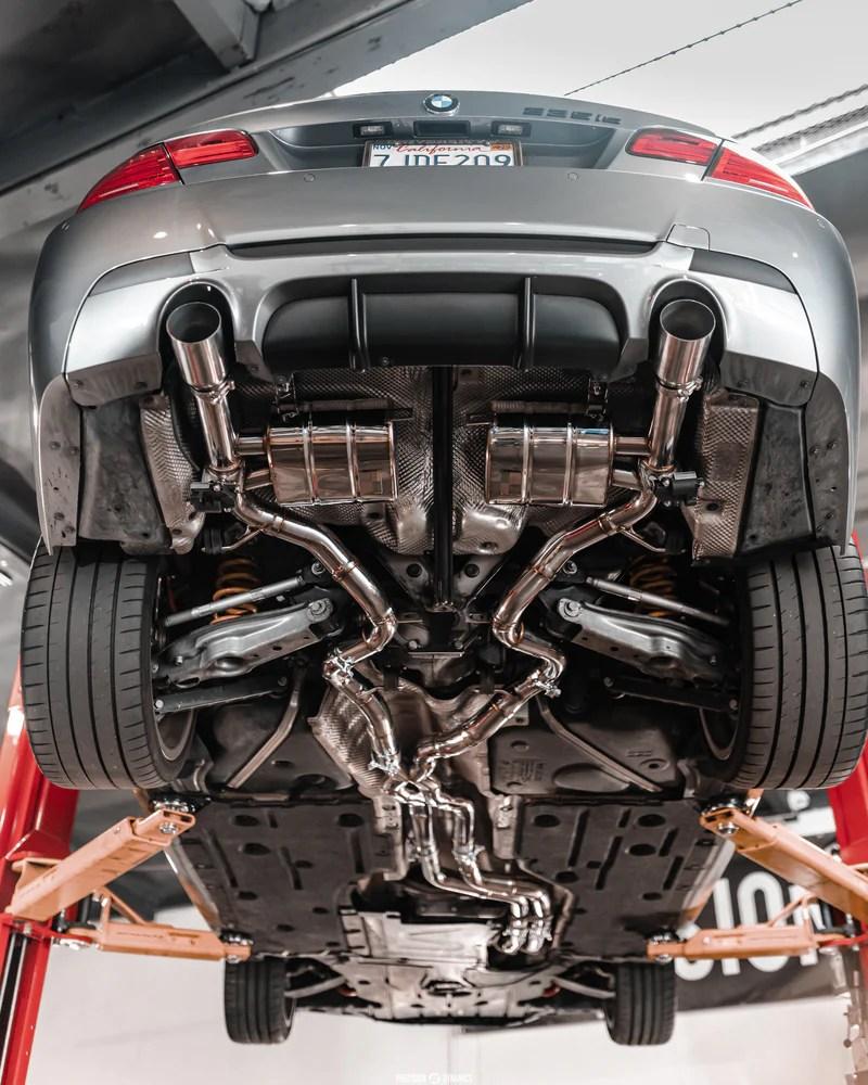 bomiz bmw e9x 335i valvetronic catback