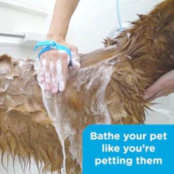 Silicone Pet Shower Glove