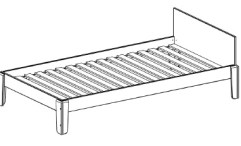 Perch Lower Twin Bed Dimensions
