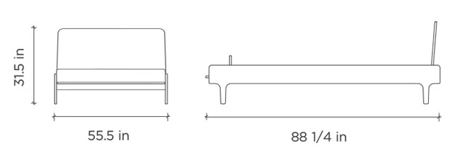 River Full Bed Dimensions