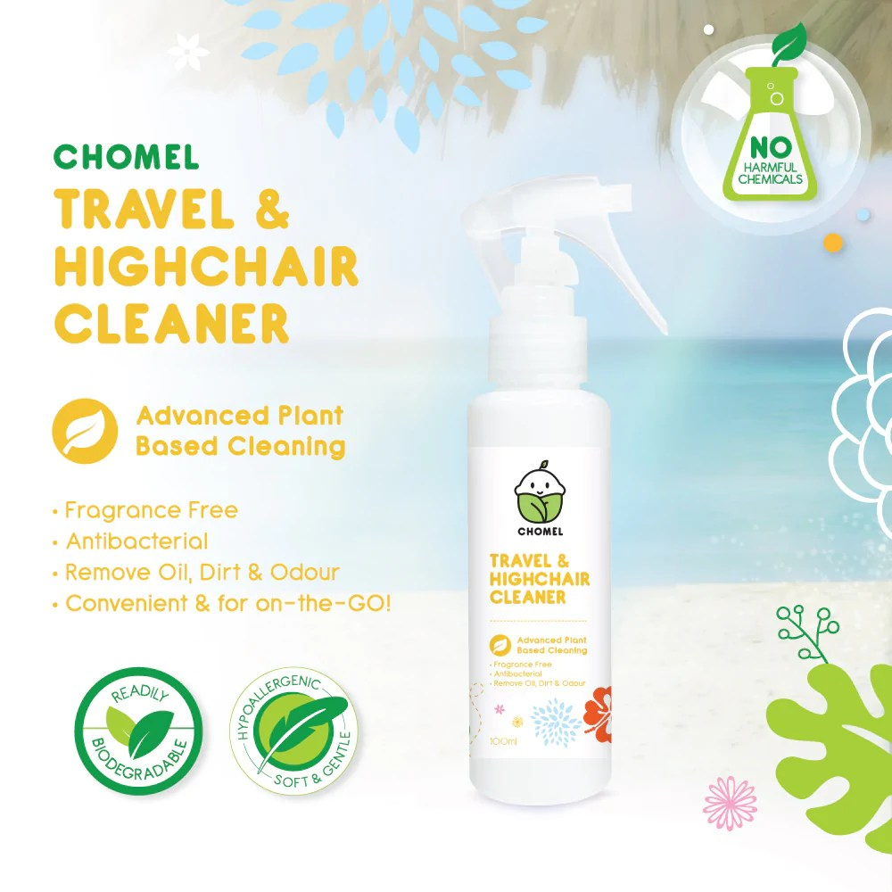 Chomel Baby Travel & Highchair Cleaner