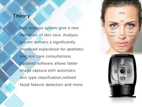 What factors influence the results of the image session? A number of factors contribute to the actual scores generated by the complexion analysis algorithms, including the condition of the skin (cleaned vs. fresh make-up, old make-up, time-of-day), head registration within the booth, facial expression (particularly for wrinkles),stray hair, glare areas resulting from oily skin, etc. Note that the percentile scores were generated for subjects with cleaned skin prior to their imaging session, so results may vary if make-up is NOT removed prior to a patient's session.