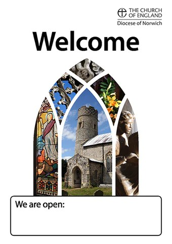 Open Church Poster Diocese Of Norwich Online Shop