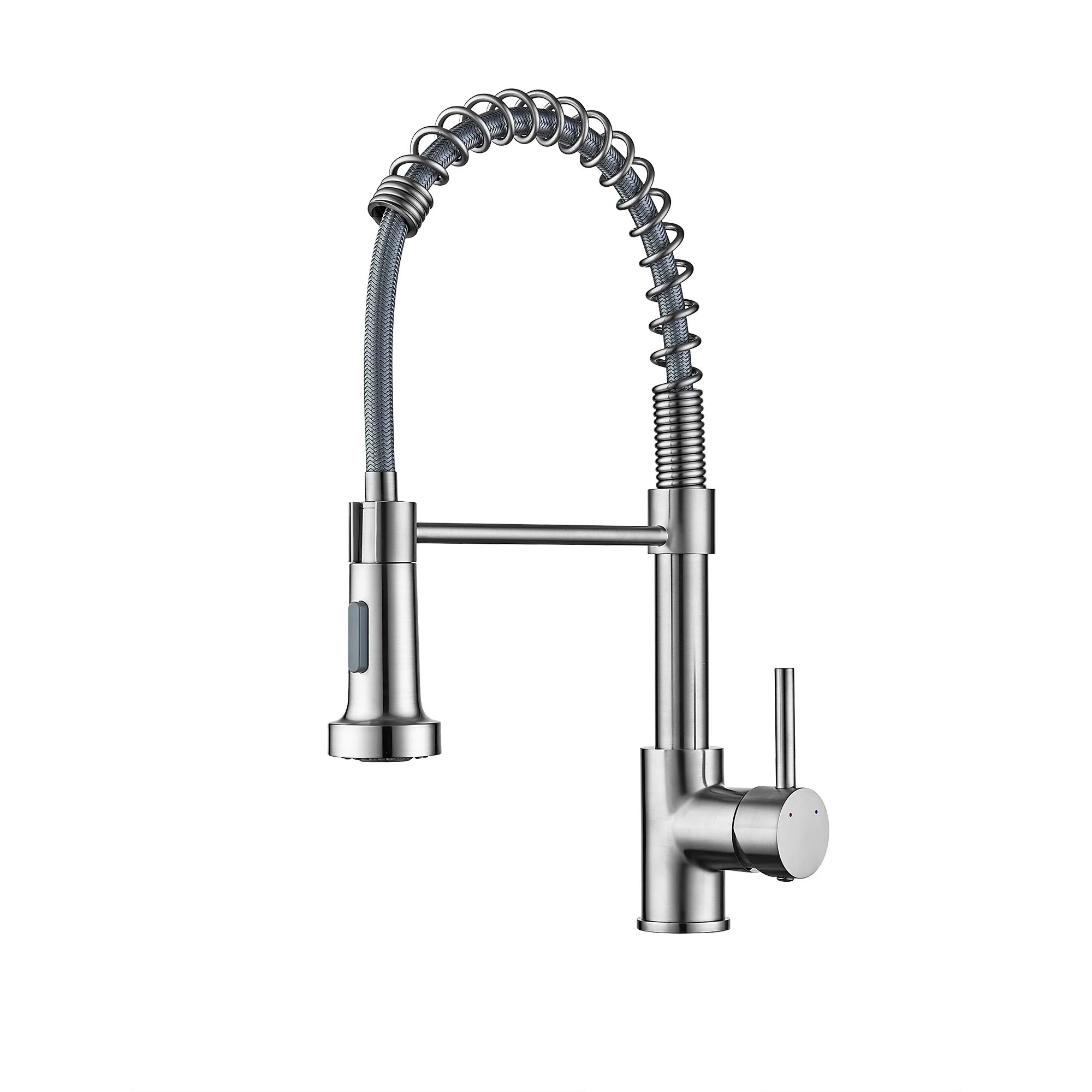 ravinte commercial kitchen faucet with sprayer single handle spring spout faucets pull down sprayer solid brass kitchen sink faucet farmhouse kitchen