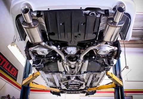 2009 2013 infiniti g37 sedan 2015 q40 stainless steel cat back exhaust system 504377