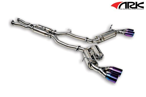 hyundai genesis coupe 3 8l grip exhaust system w tecno tips