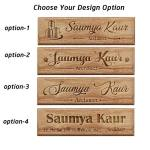 Personalized Wooden Name Plates For Architects Gifts For Architects