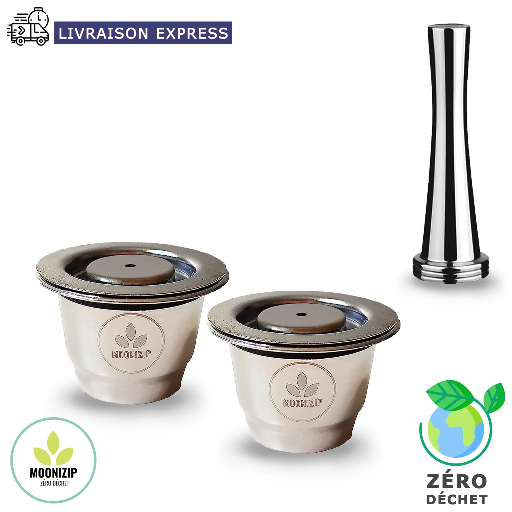 capsule nespresso reutilisable en inox