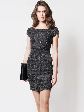 Renee City Girl Dress Grey *Backorder*