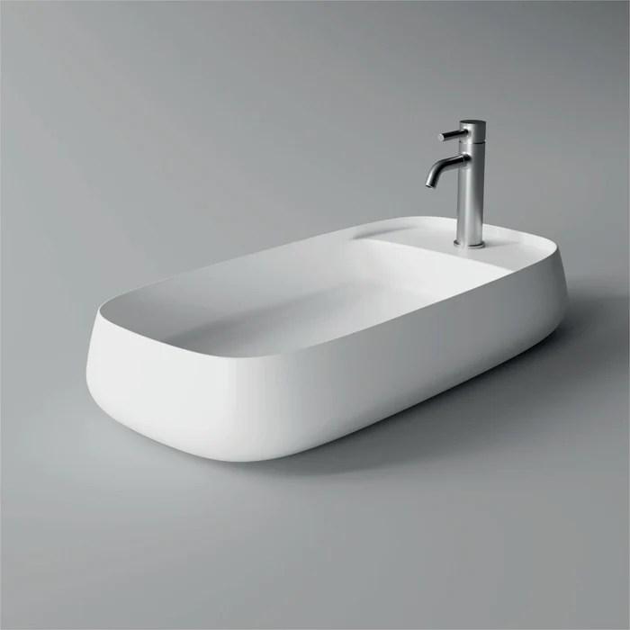 Nur Washbasin 80cm X 40cm Italian Bathrooms