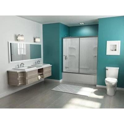 american standard chatfield 8 in widespread 2 handle bathroom faucet in brushed nickel