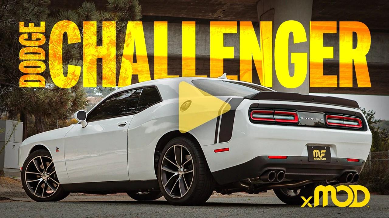 dodge challenger xmod series exhaust