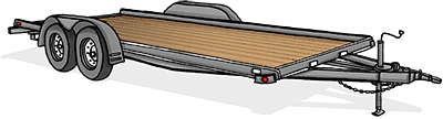 Dovetail Trailer