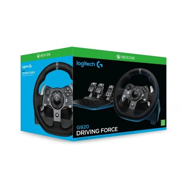 Logitech G G920 Driving Force Steering Wheel For XBox OnePC