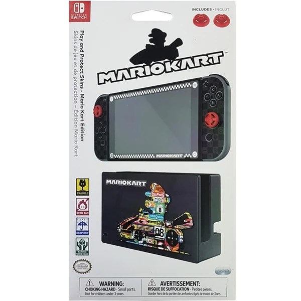 PDP Nintendo Switch Screen Protection N Skis Mario Kart Edition