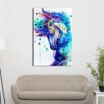 Colorful Horse Canvas Wall Art Canvas Insider