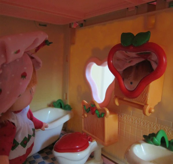 Bathroom Cabinet Mirror For Strawberry Shortcake Berry