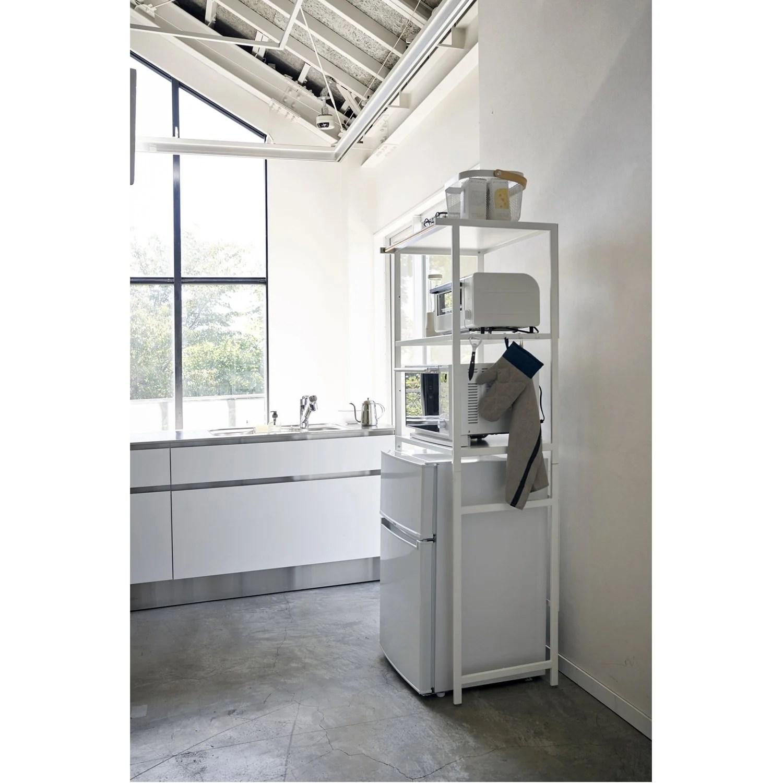 tower kitchen appliance storage rack in