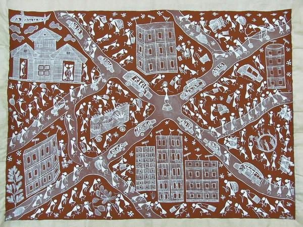 Warli Art Tribal And Folk Art From India DeccanFootprints