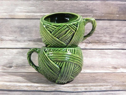 Image result for yarn ball cup