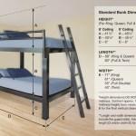 Full Xl Over Full Xl Bunk Bed Adultbunkbeds Com