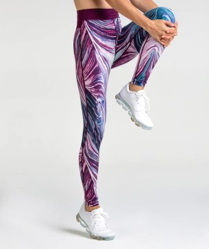 Gymshark Strada Earth Leggings - Print 4