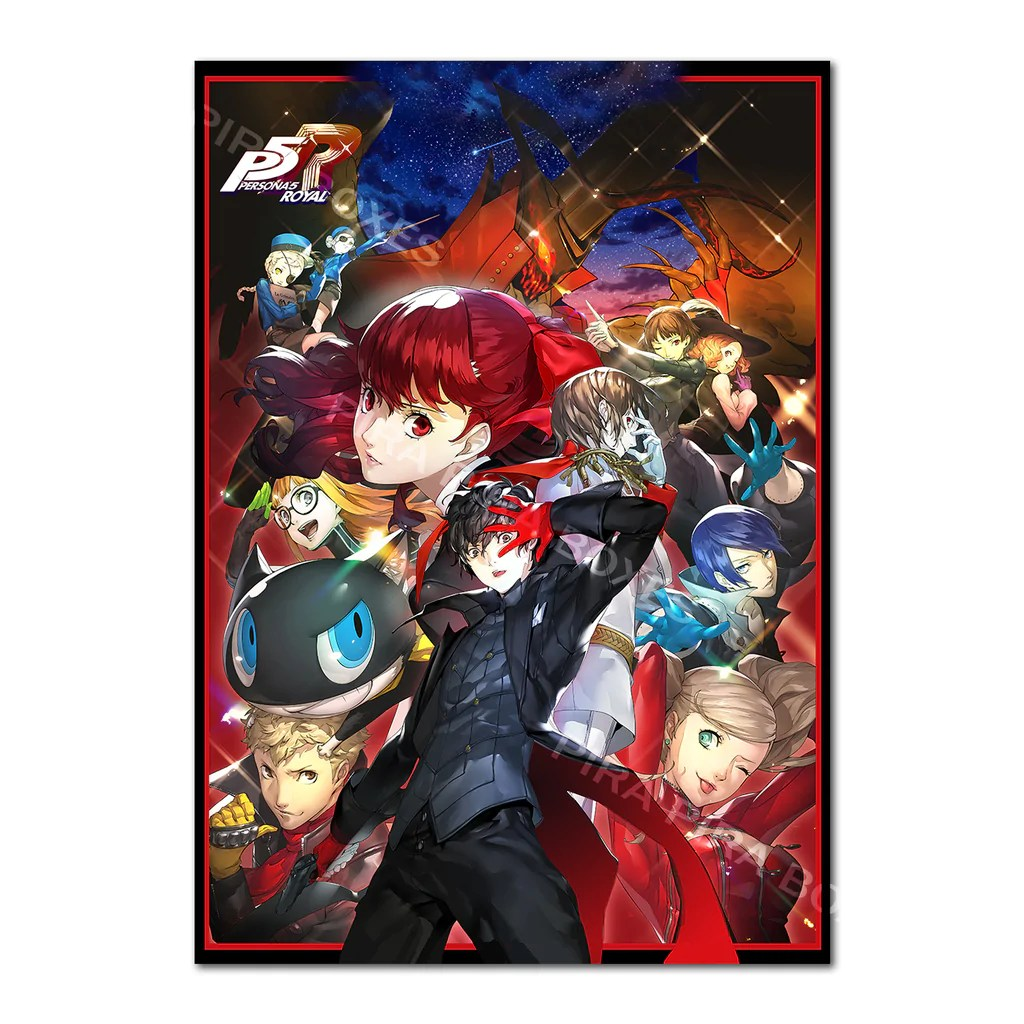 persona 5 royal poster official exclusive design art