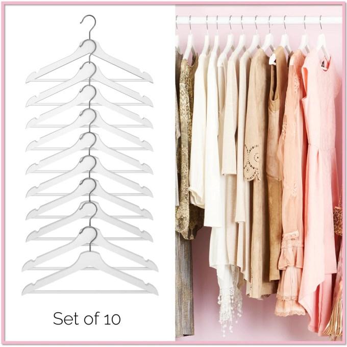 Glamour Premium Wood Hangers™ (Set of 10) - Boottique