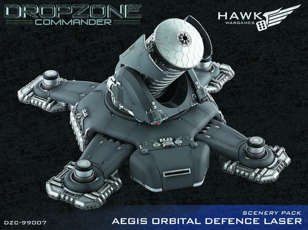 Orbital Defence Laser