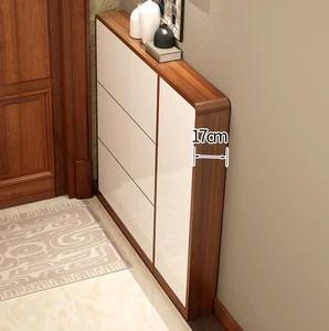 super thin narrow profile modern nordic shoe cabinet beautiful and stylish