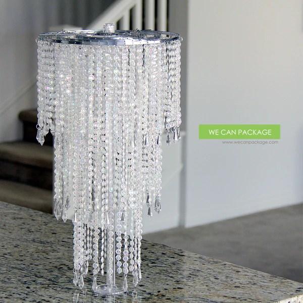 DIY Chandelier Wedding Centerpiece Ideas Do It Yourself