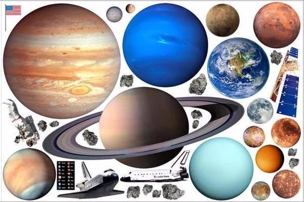 Outer Space Wall Decals Planets Amp Solar System IStickUp