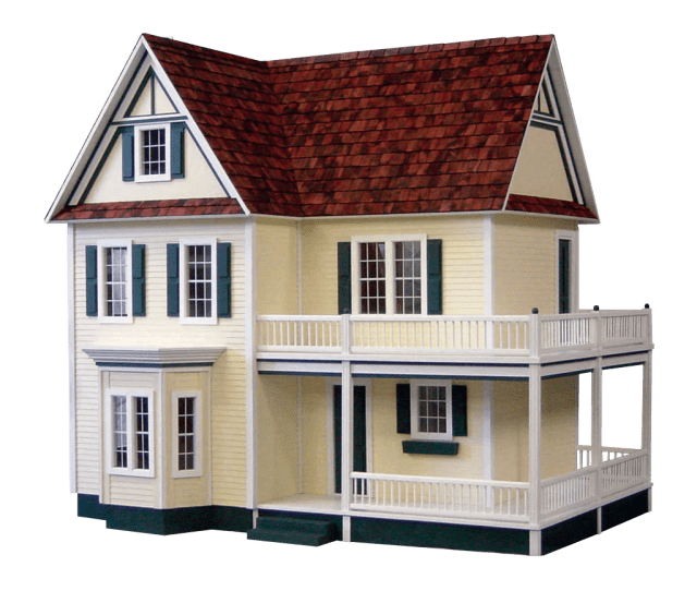 Victorias Farmhouse Dollhouse Kit