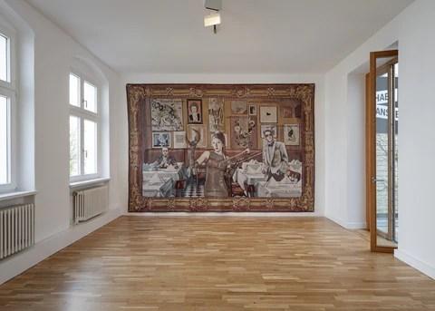 margret eicher the neo baroque furor show galerie michael janssen