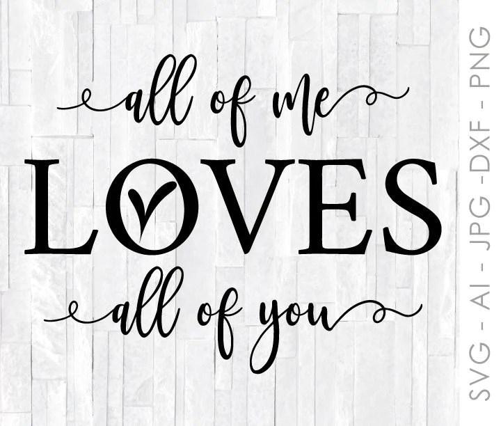 Download Love SVG Quote, Valentines Day Design for Cricut ...