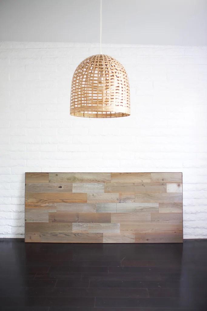 why a reclaimed wood headboard diy