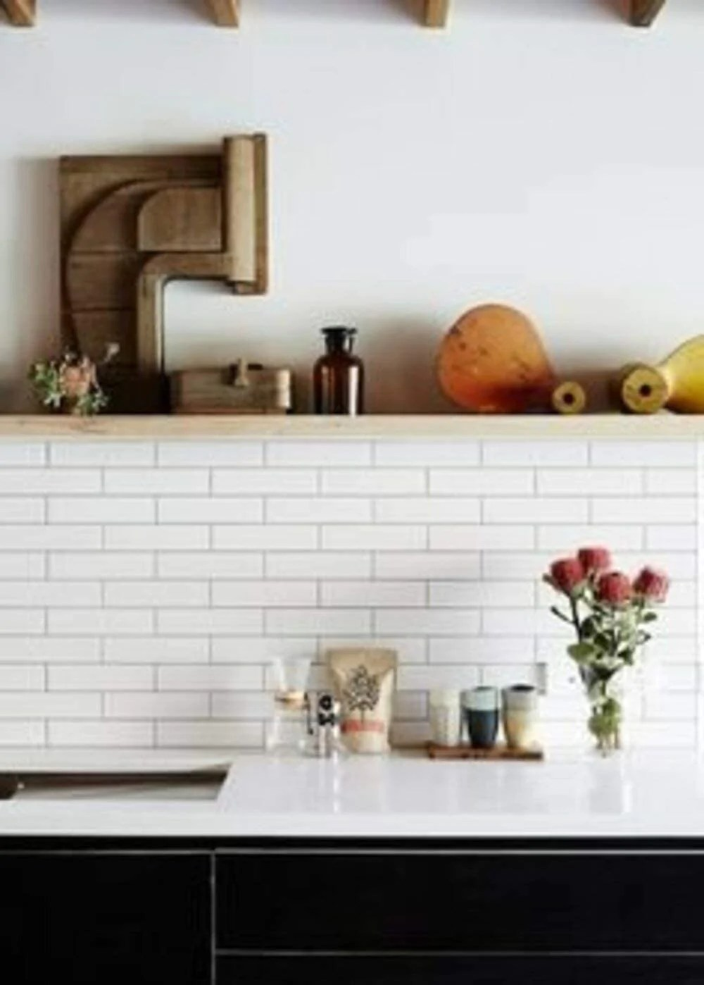 matte white subway tile 2x8 for wall