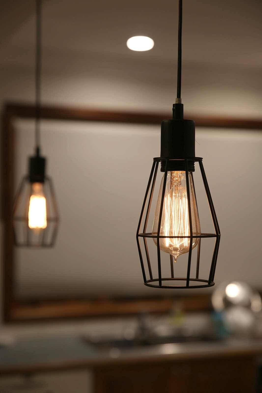 Caged Pendant Lights