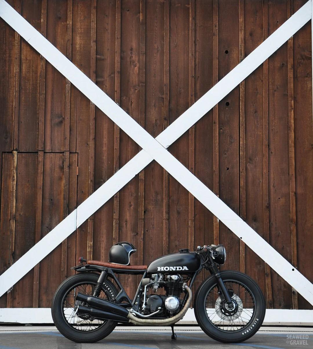 CB550 Custom Build by S&G builder Brady Young