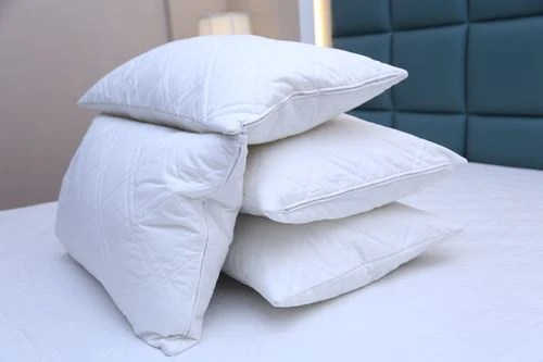 luxury quilted zipped pillow protector soft pillows pair 100 cotton pack of 4 covers waterproof terry pillow protector pack of 4