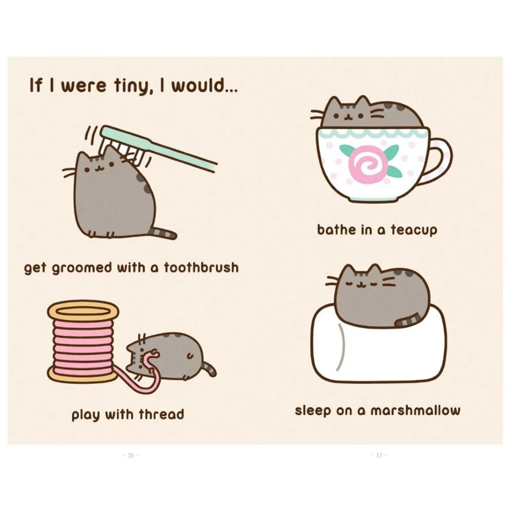 I Am Pusheen The Cat Book PIQ