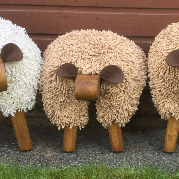 Foot Rest Welsh Sheep Small Exclusive The Welsh