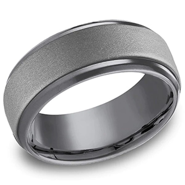Benchmark Tantalum Mens Wedding Band