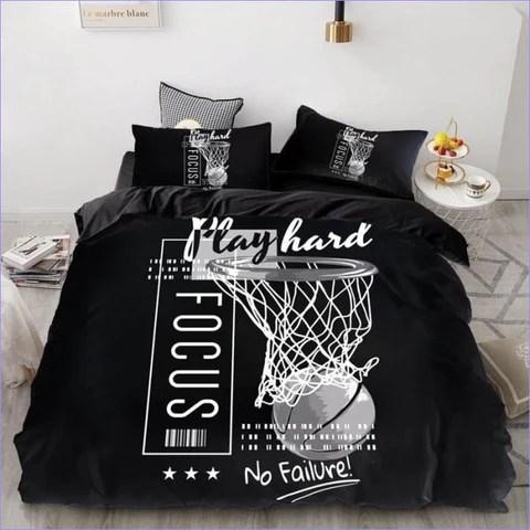 Housse De Couette Basketball Couettedouillette Com