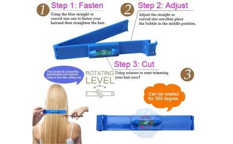 Magic DIY Layer Hair Cutting Kit Clip
