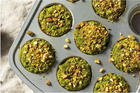 Green Spinach Muffins