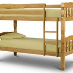 Chunky Solid Wooden Bunk Bed Reinforced Beds