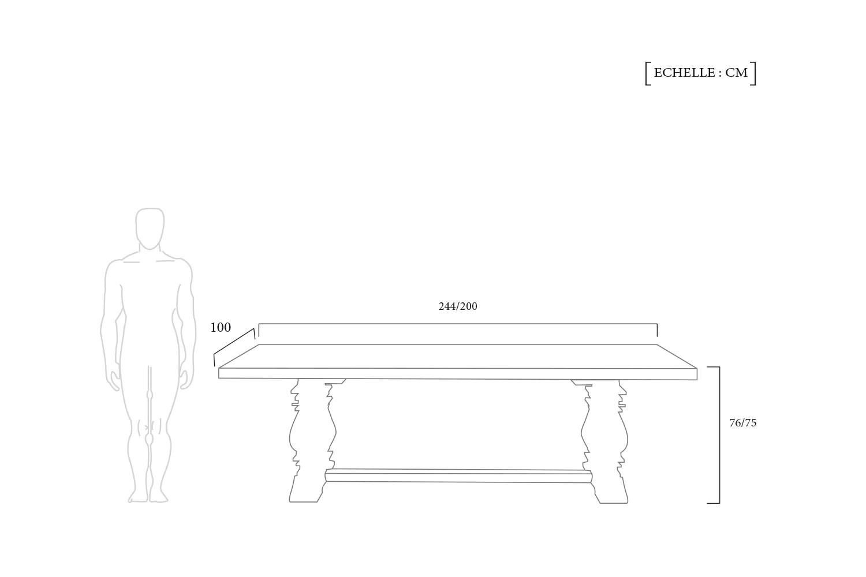 table de salle a manger monastere en