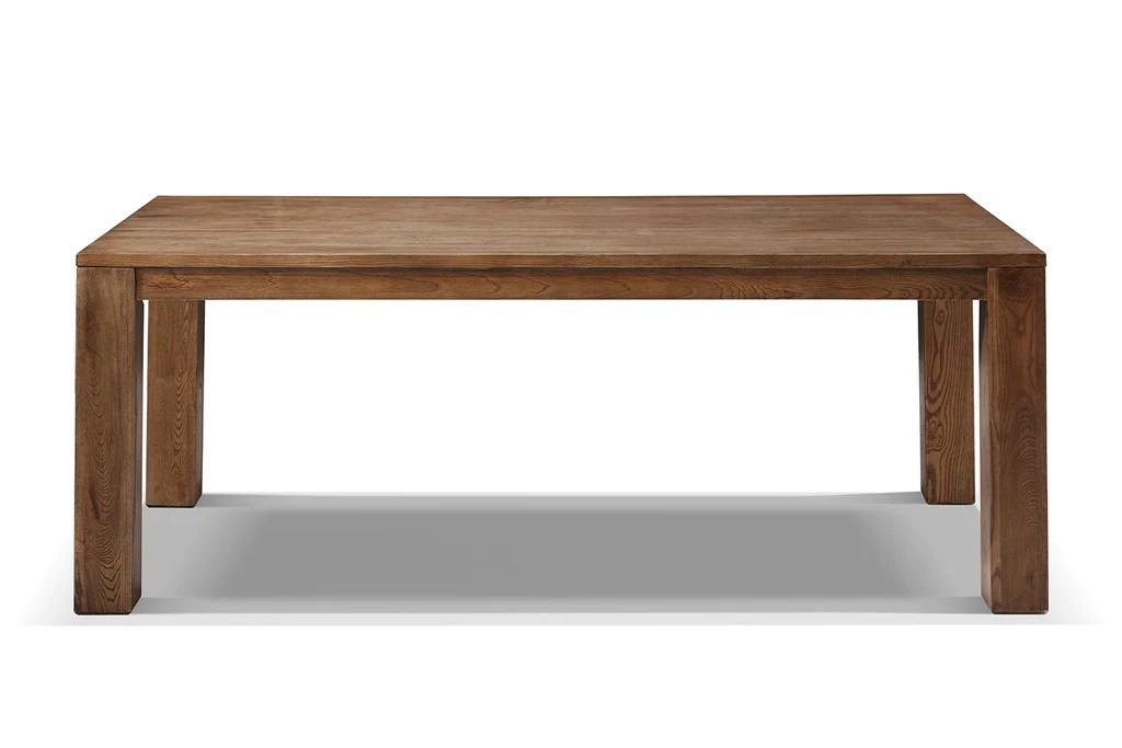 table de salle a manger campagne en bois massif