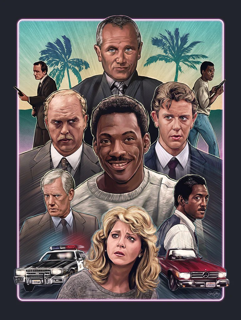 Beverly Hills Cop by Sam Gilbey